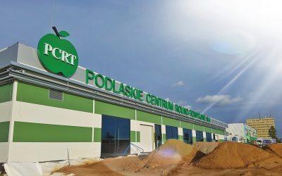 Podlaskie Centrum Rolno-Towarowe S.A. Nowa hala jest już niemal gotowa.