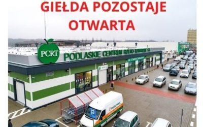 giełda białystok, Giełda Białystok